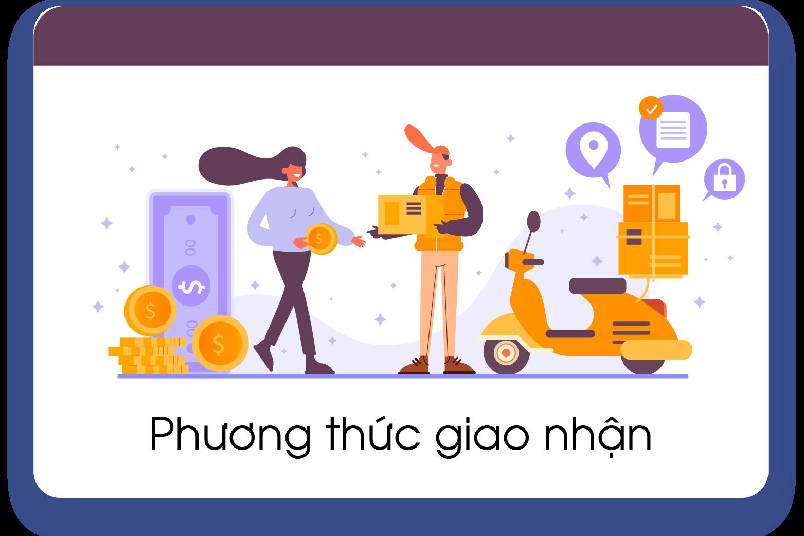 Phương thức giao hàng taoquangcao.com