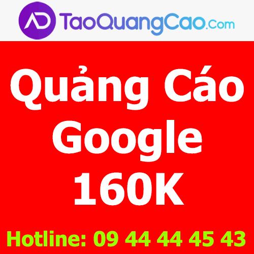 Quảng cáo Google 160k